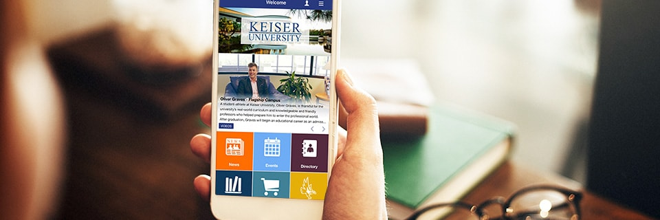 Introducing the New Keiser University Mobile App