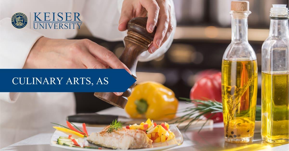 Associate Degree in Culinary Arts School in FL - Keiser University