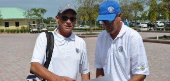NCCGA Robert Stokes recieves informtion on Qualifying from Coach Frank Longabucco March 2014