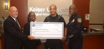 APS CJ Honor Society presents check June 2014