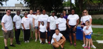 American Lung Association Walk May 2014 group