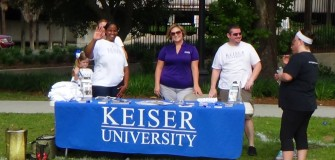 American Lung Association Walk May 2014 info table