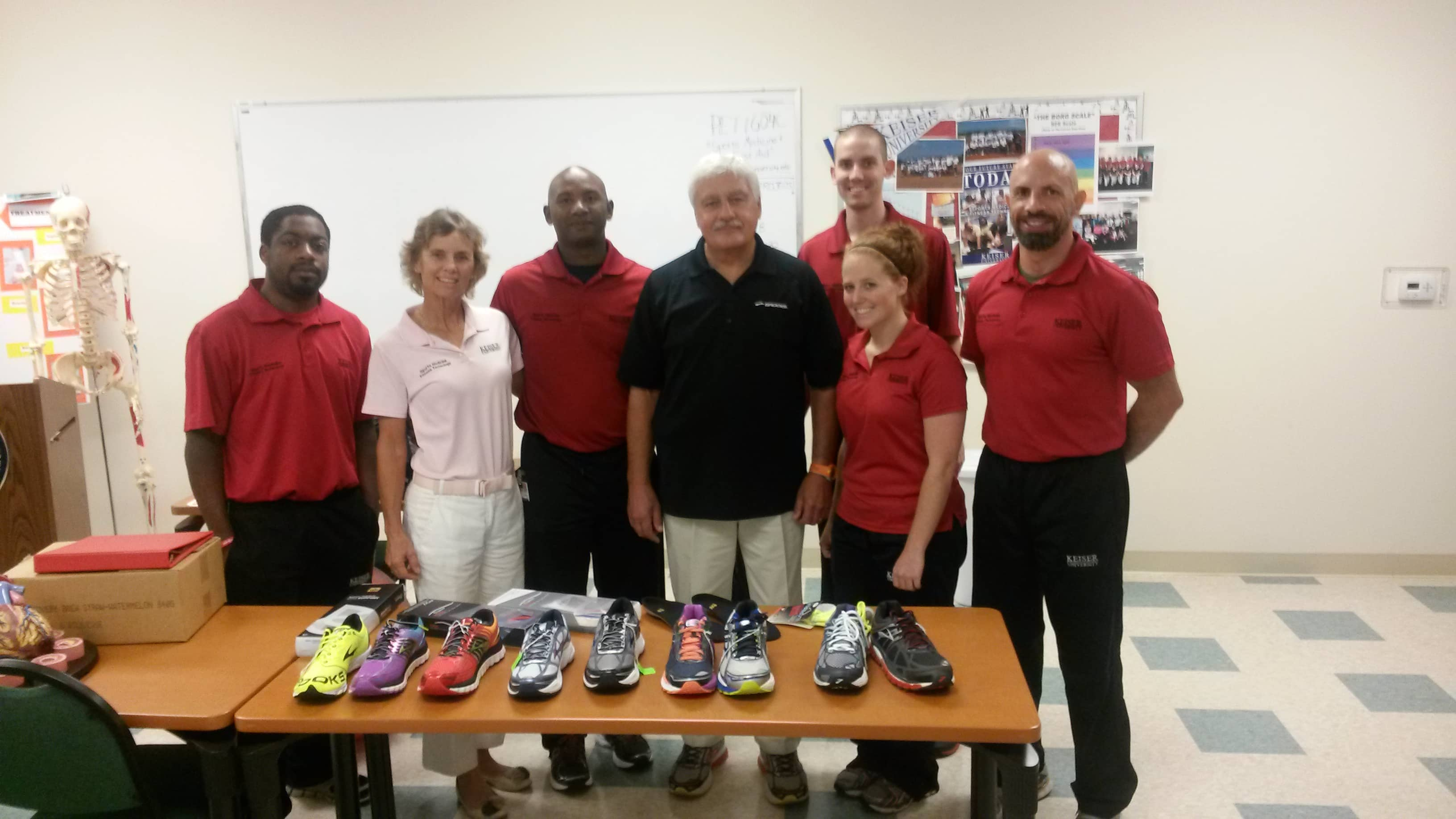 The College of Golf and Sport Management Hosts a Representative from Brooks Footwear