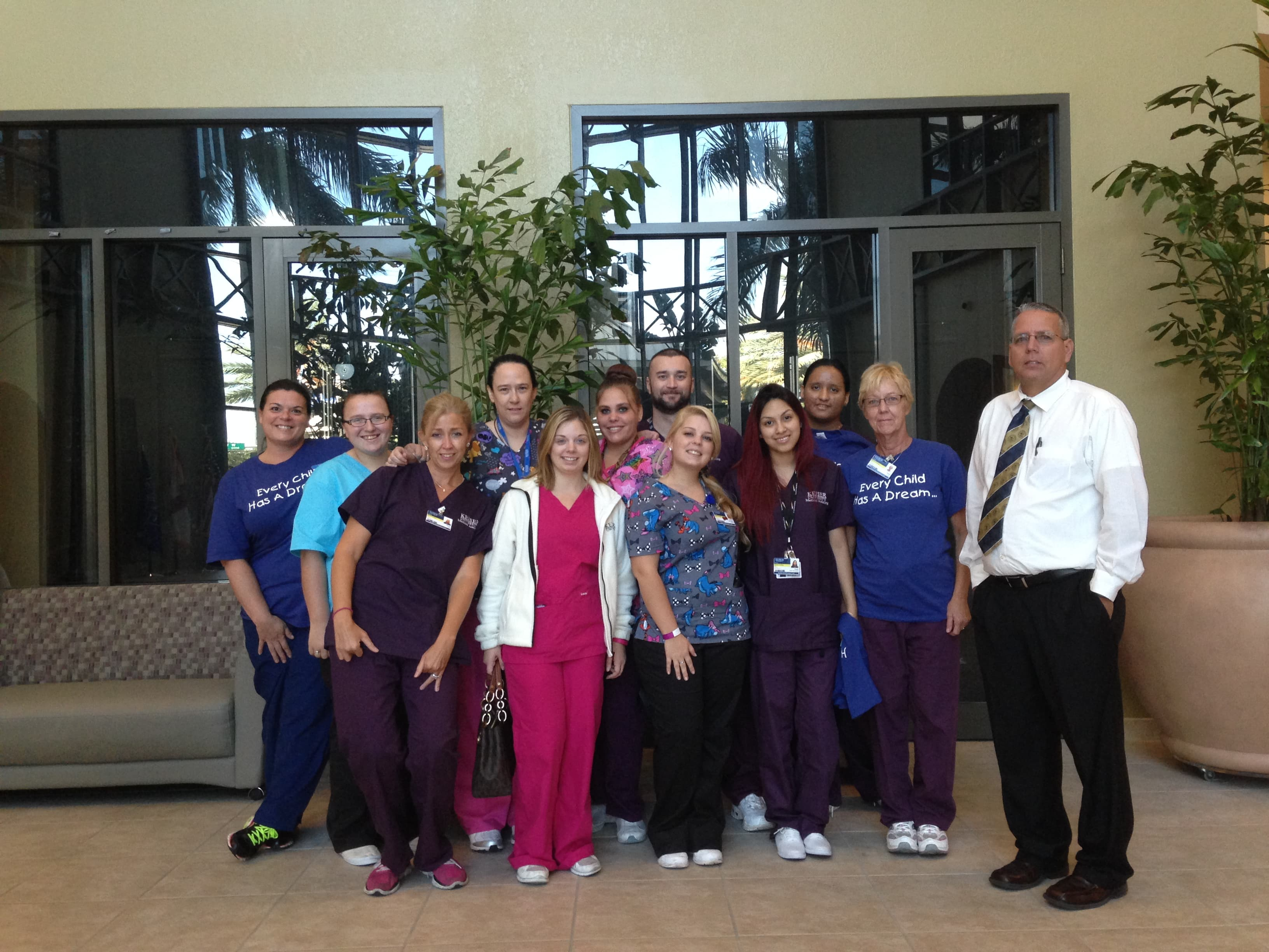Medical Assisting Students in Tampa Collect Funds for the Children's Dream Fund