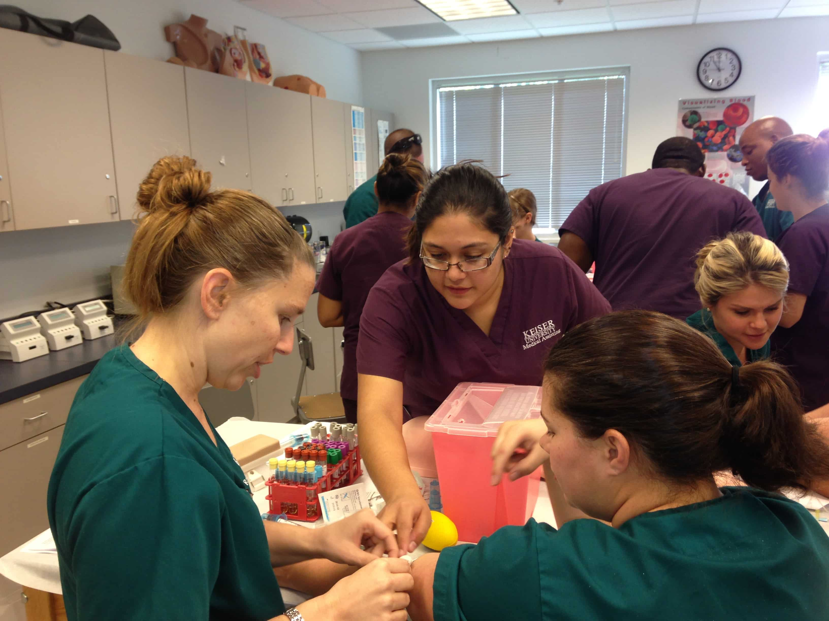Radiologic Technology and Medical Assisting Students Expand Their Horizons
