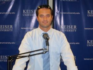 guest speaker Sept. 2014 2