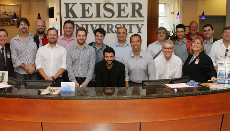 West Palm Beach Campus Hosts Brazilian Delegation