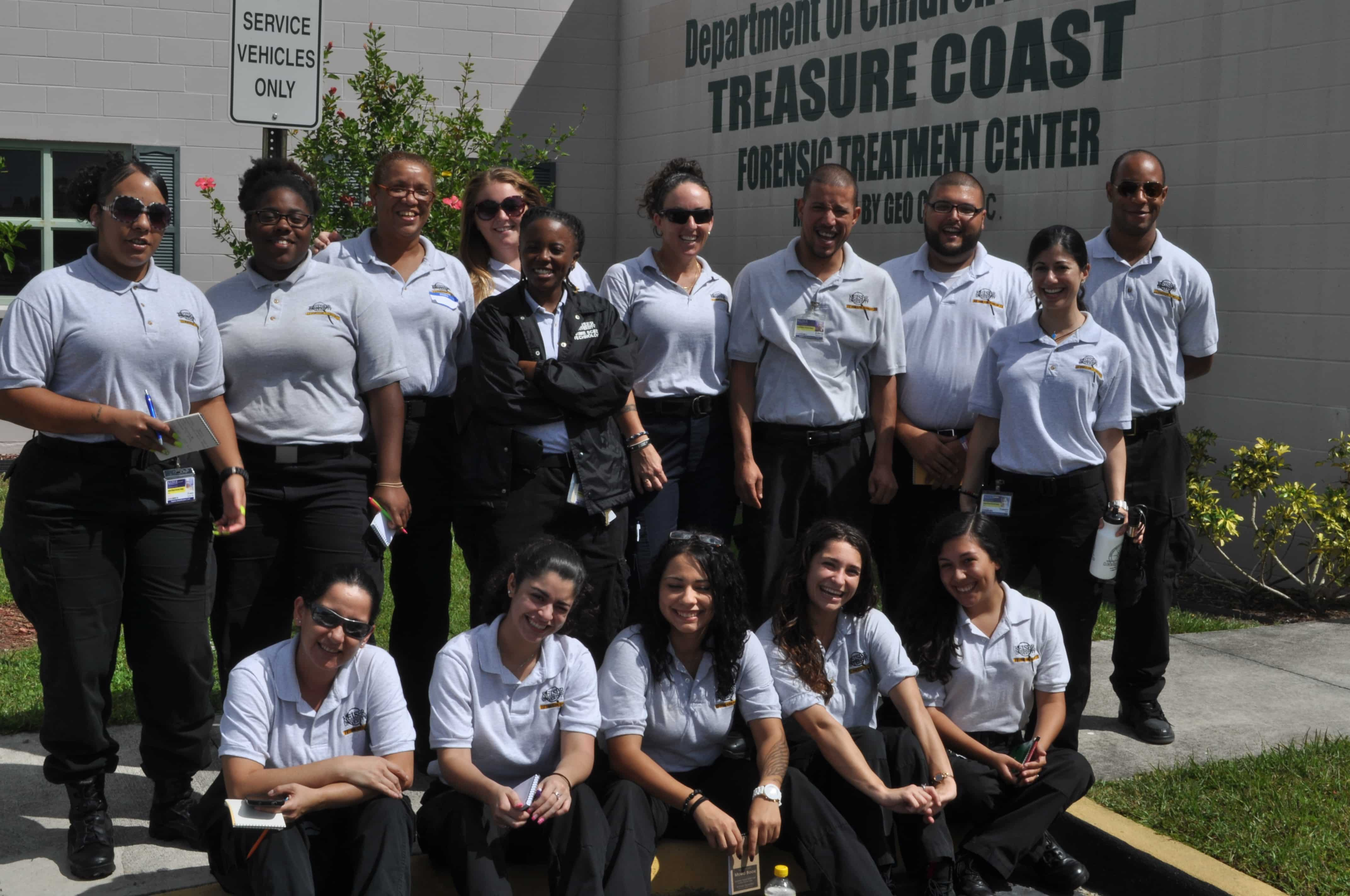Crime Scene Technology Students From West Palm Beach Visit the Treasure Coast Forensic Treatment Center