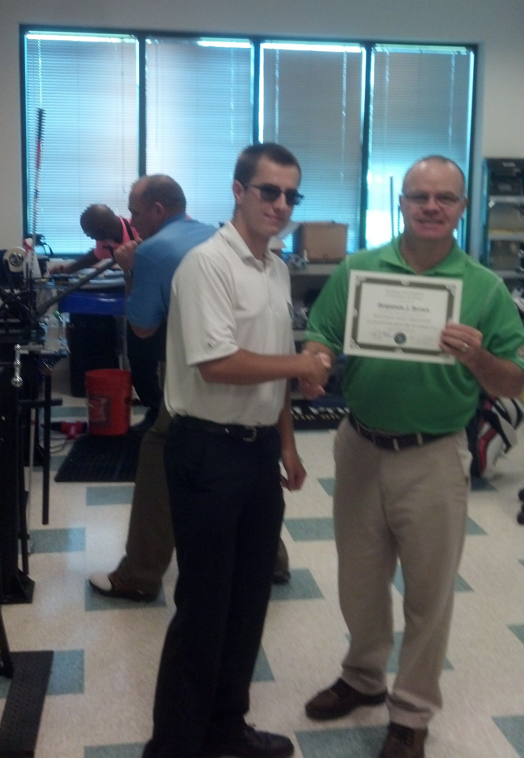 College of Golf and Sport Management Student Receives Certification from PGA Master Professional