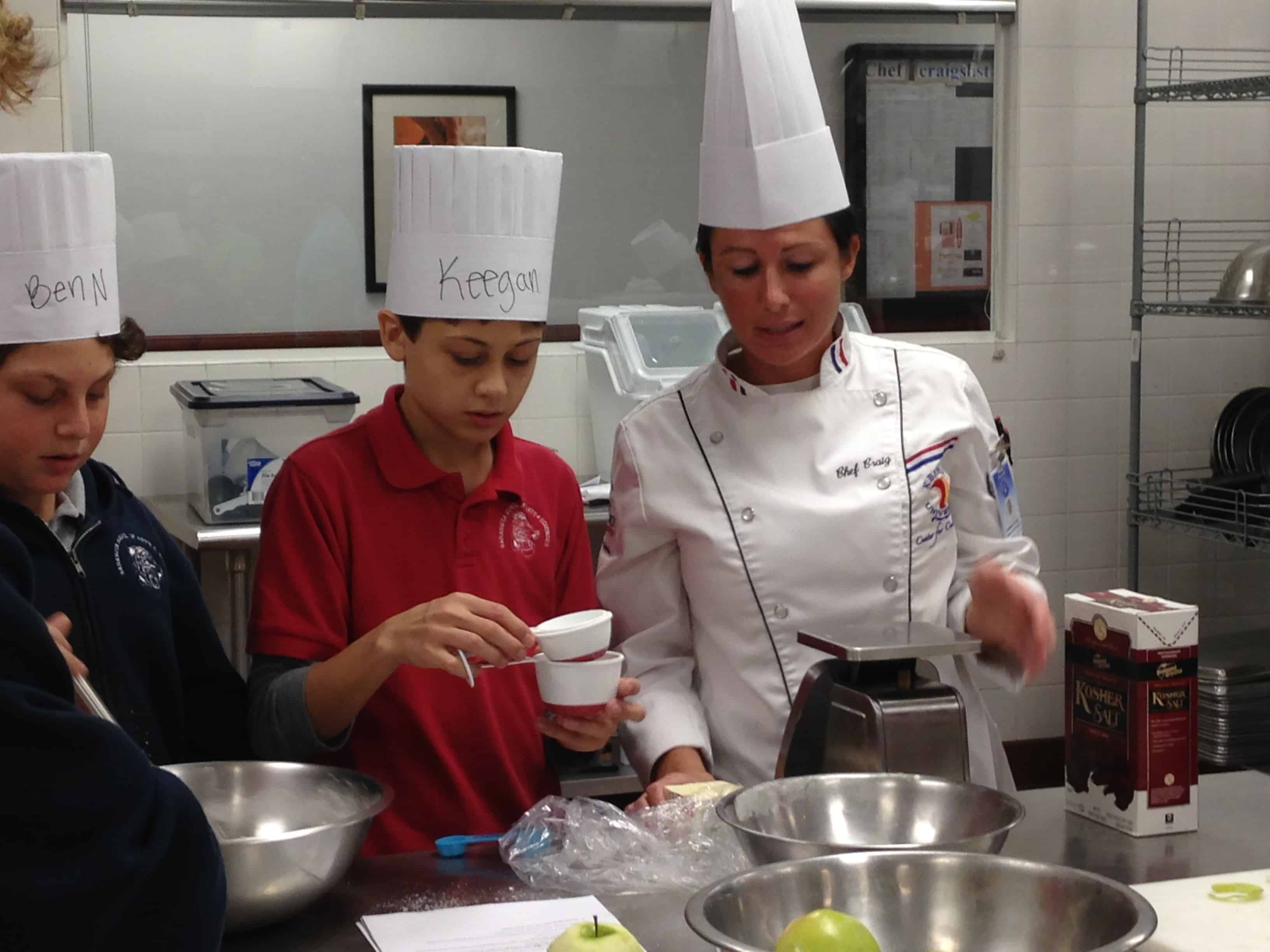 Center for Culinary Arts in Sarasota Hosted a Childhood Nutrition Day Event