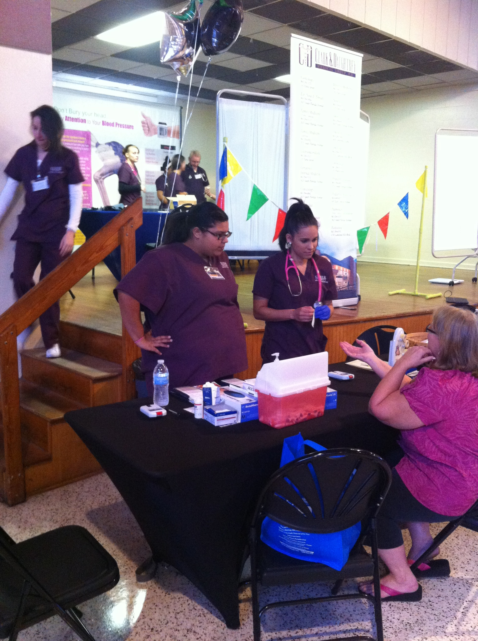 Lakeland Medical Assistant Students Participate in City of Lakeland's Health Fair