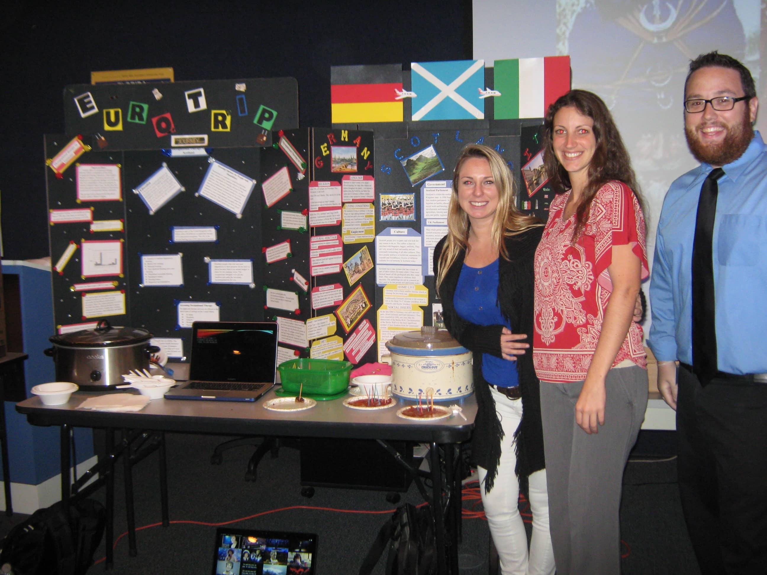 Daytona Beach OTA Students Hold a Cultural Fair
