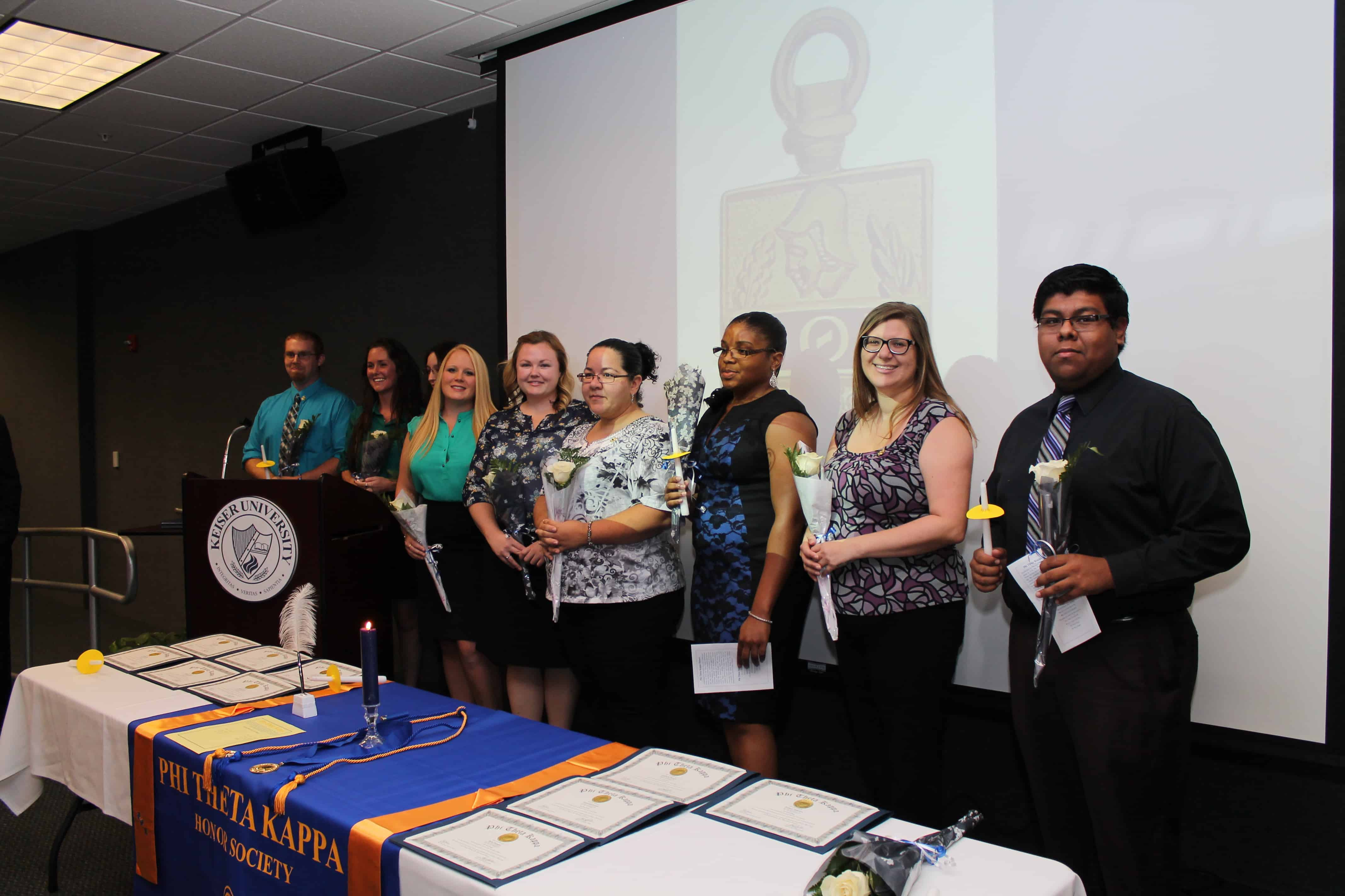 Fort Myers Campus Celebrates Phi Theta Kappa Inductees