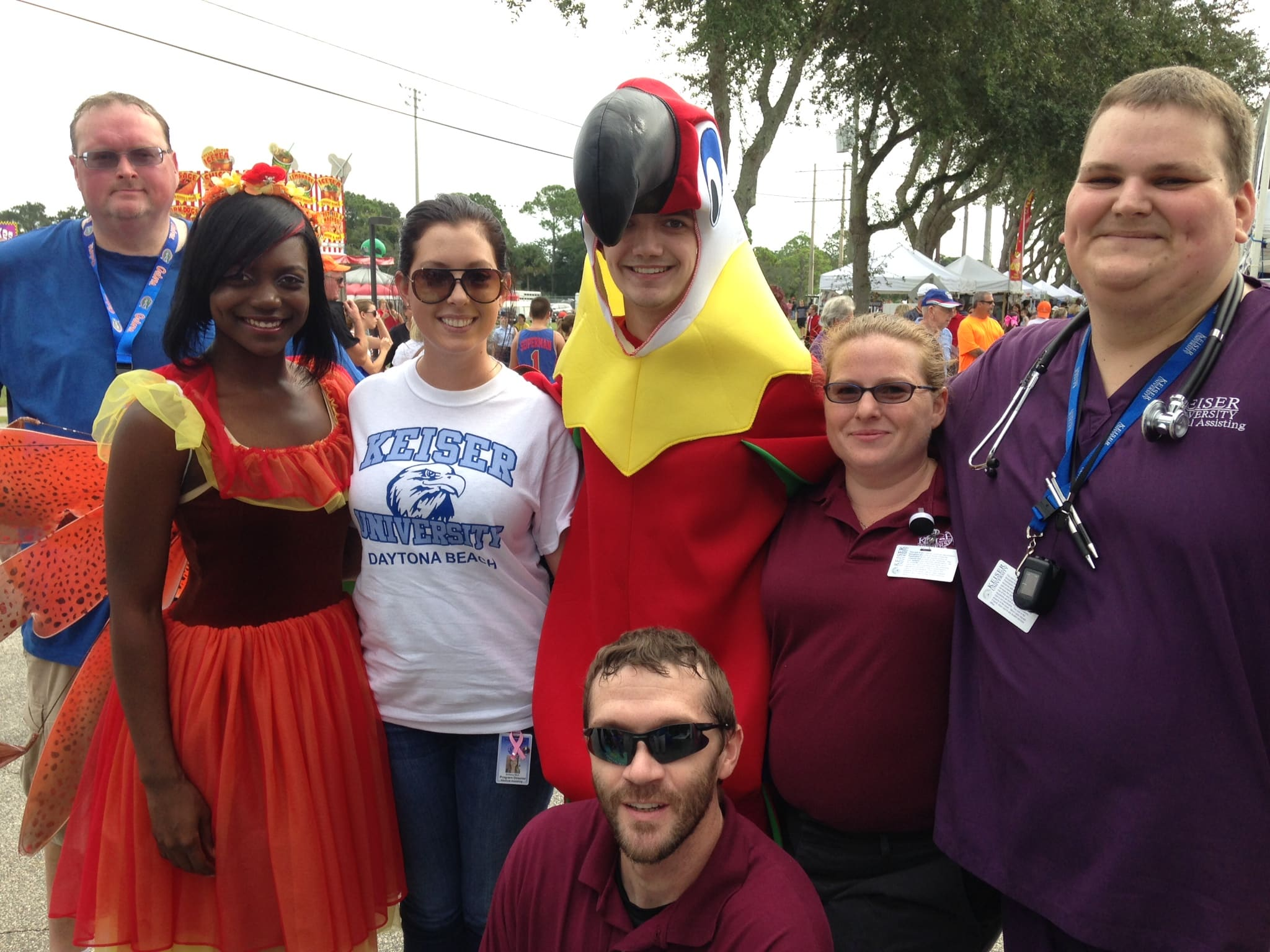 The Daytona Beach Campus Participated in Port Orange Family Days