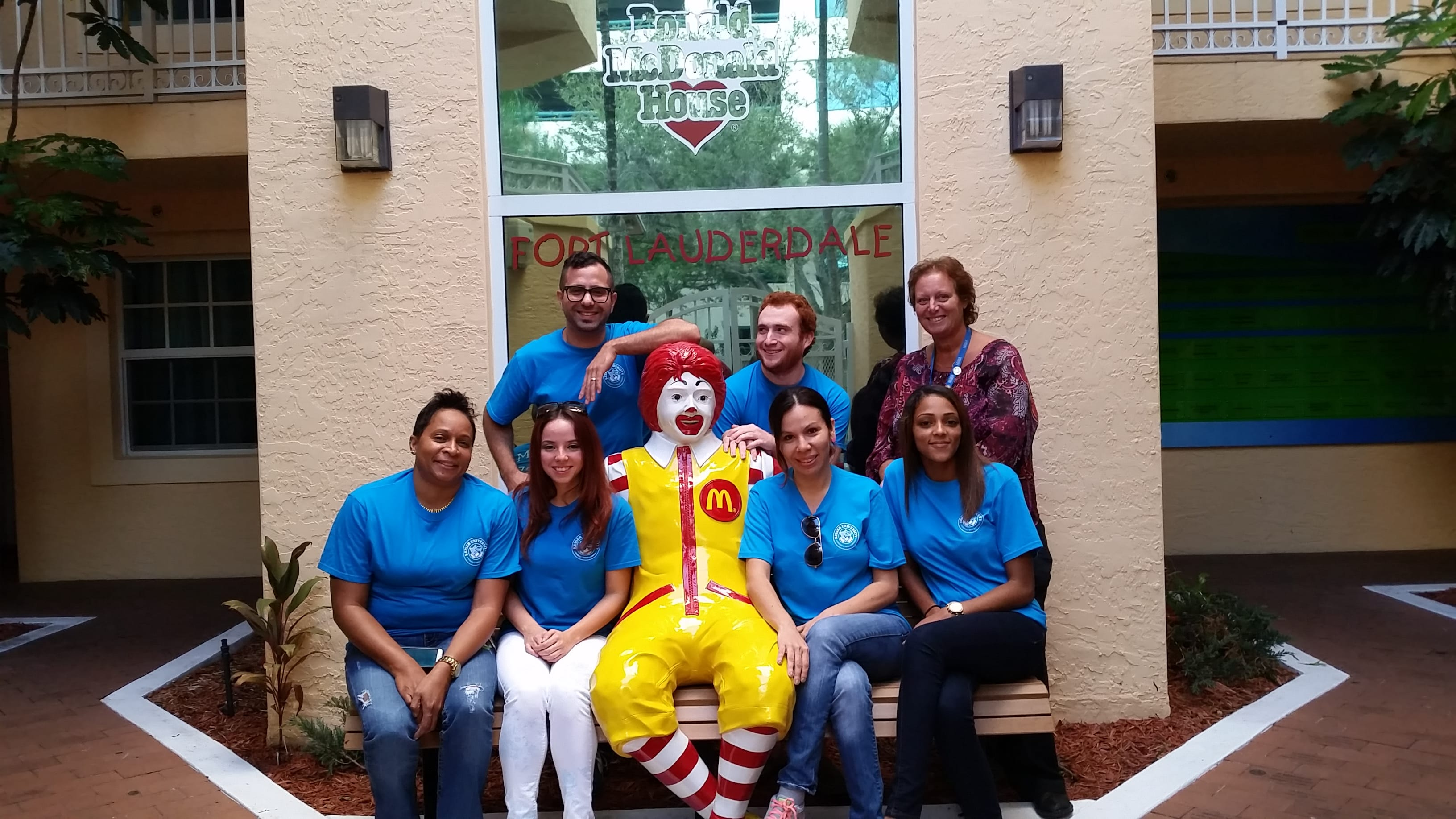 The Ronald McDonald House of Ft. Lauderdale Receives a Visit from the SOTA Club