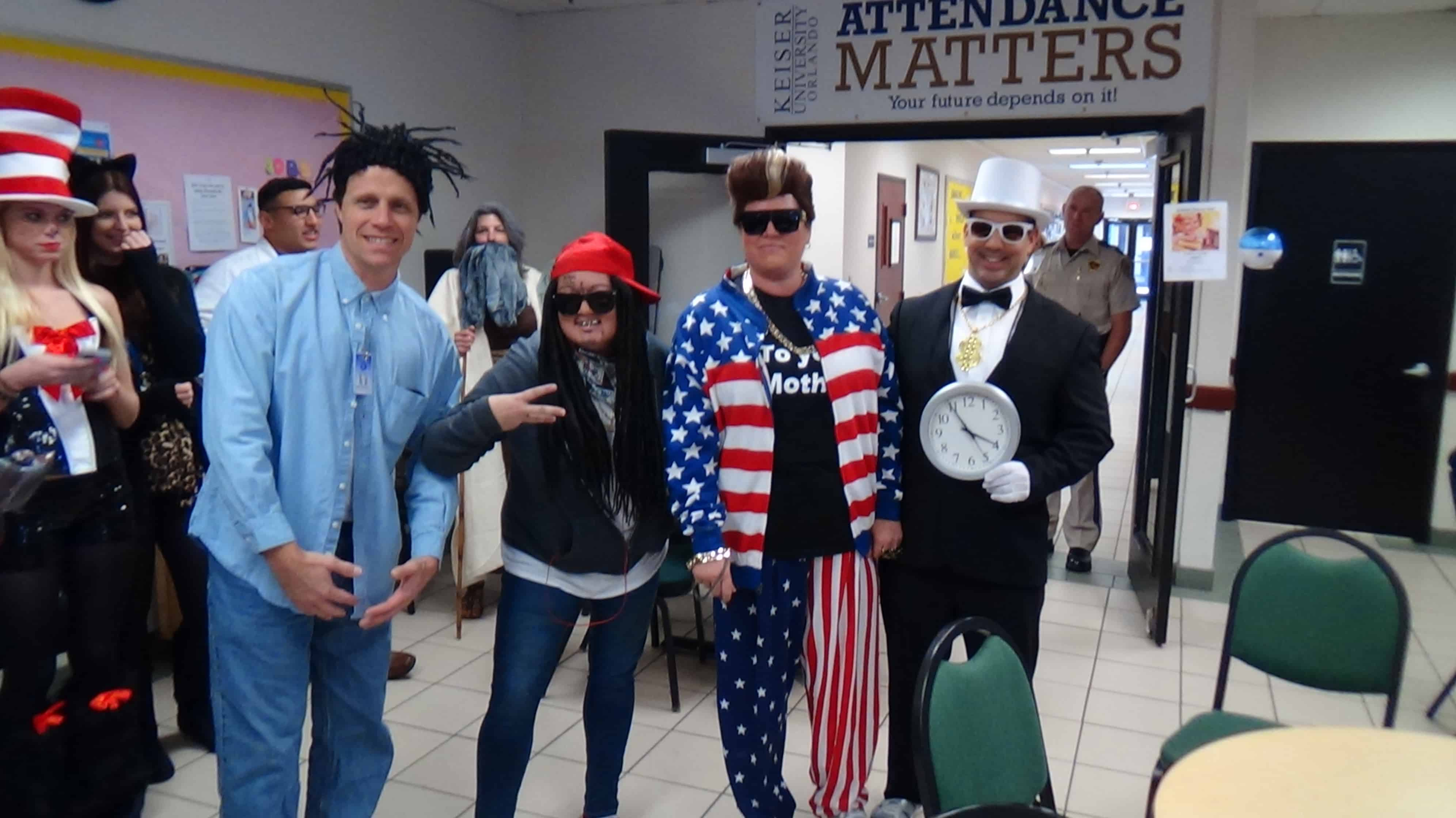 orlando's sga holds a costume contest - keiser university