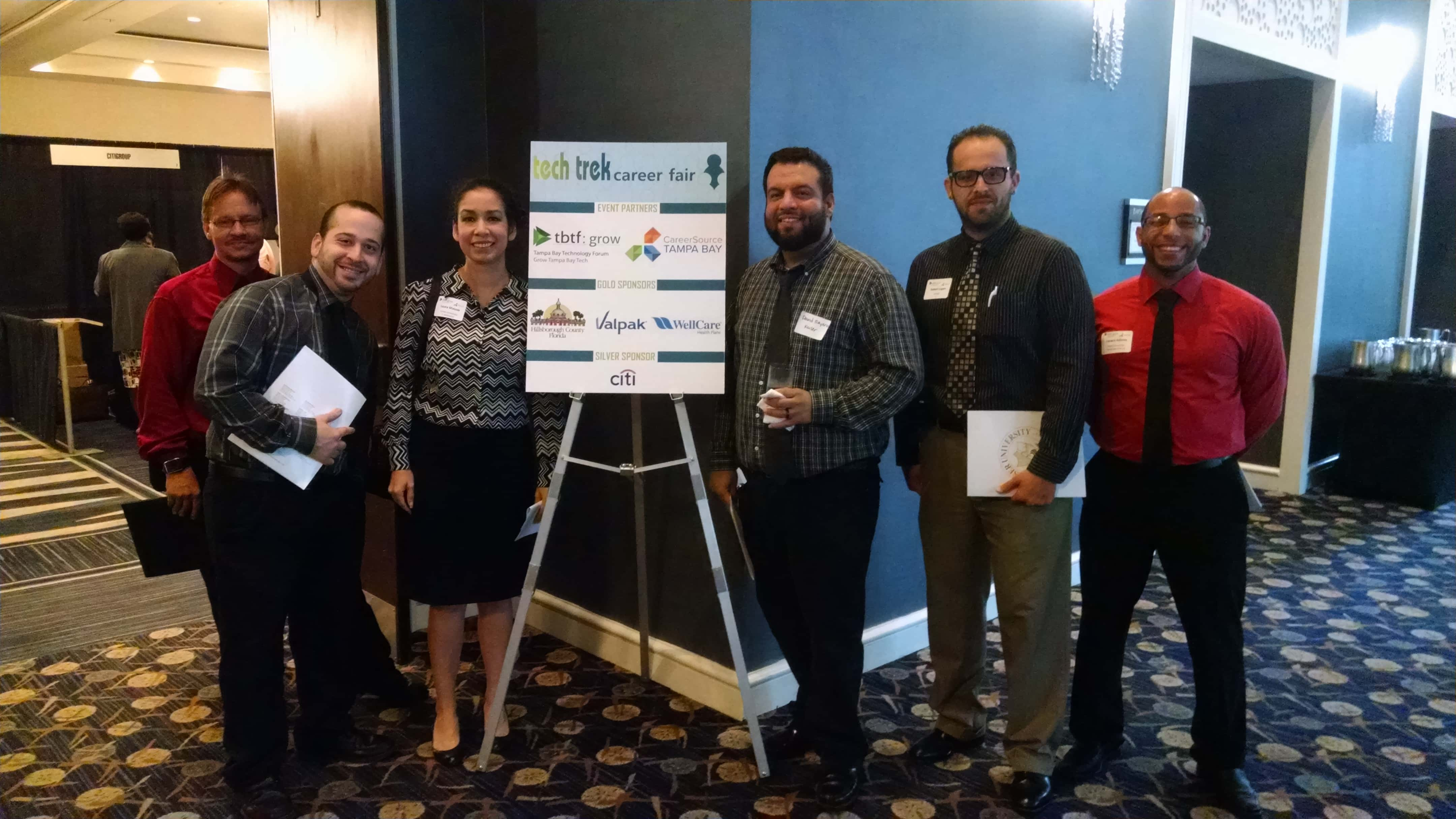 Tampa IT Students Attend Tech Trek Career Fair