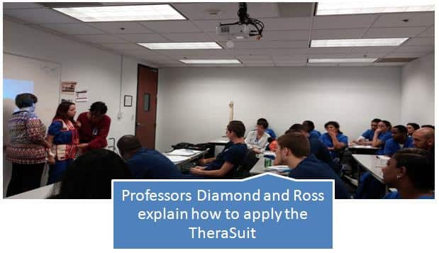 Ft. Lauderdale OTA and PTA Students Receive a Presentation on TheraSuits