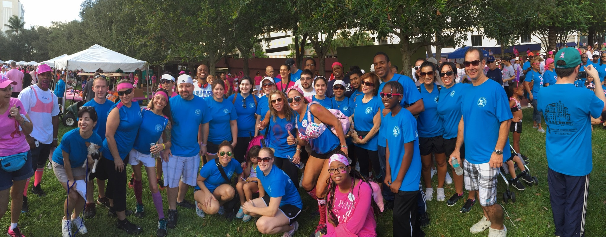 Fort Lauderdale Campus Walk for Breast Cancer Research