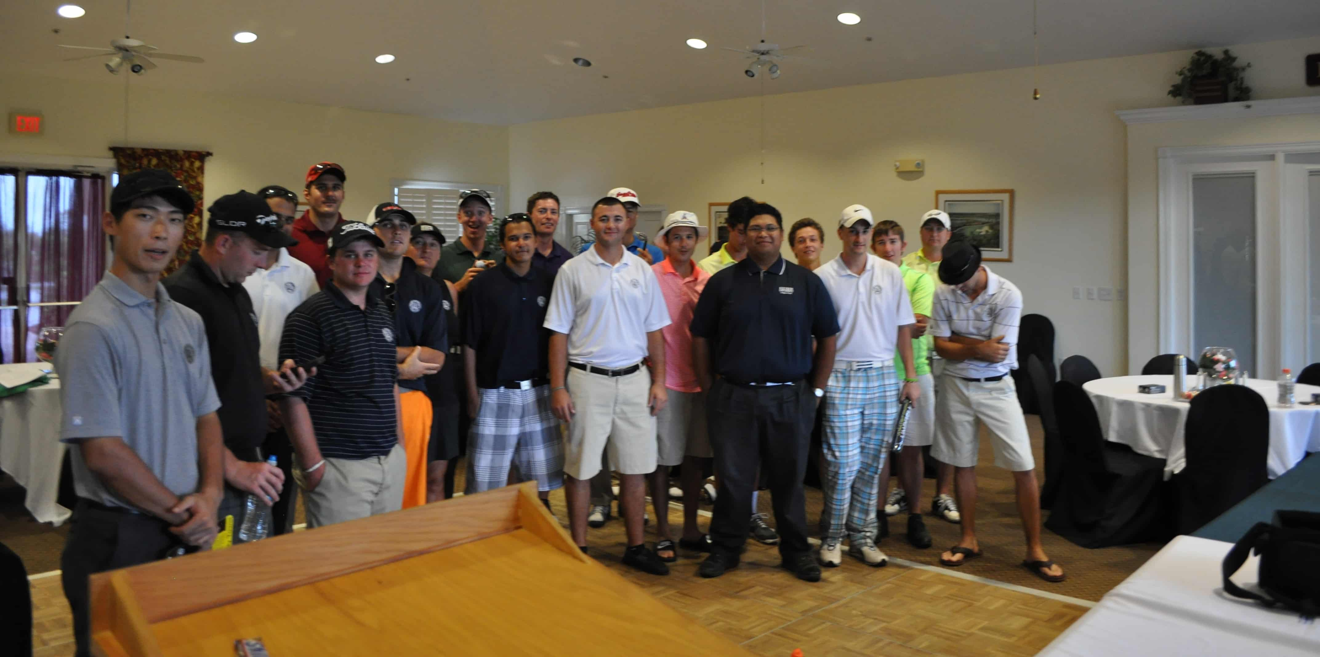 College of Golf & Sport Management Students Visit Eagle Marsh Golf Club