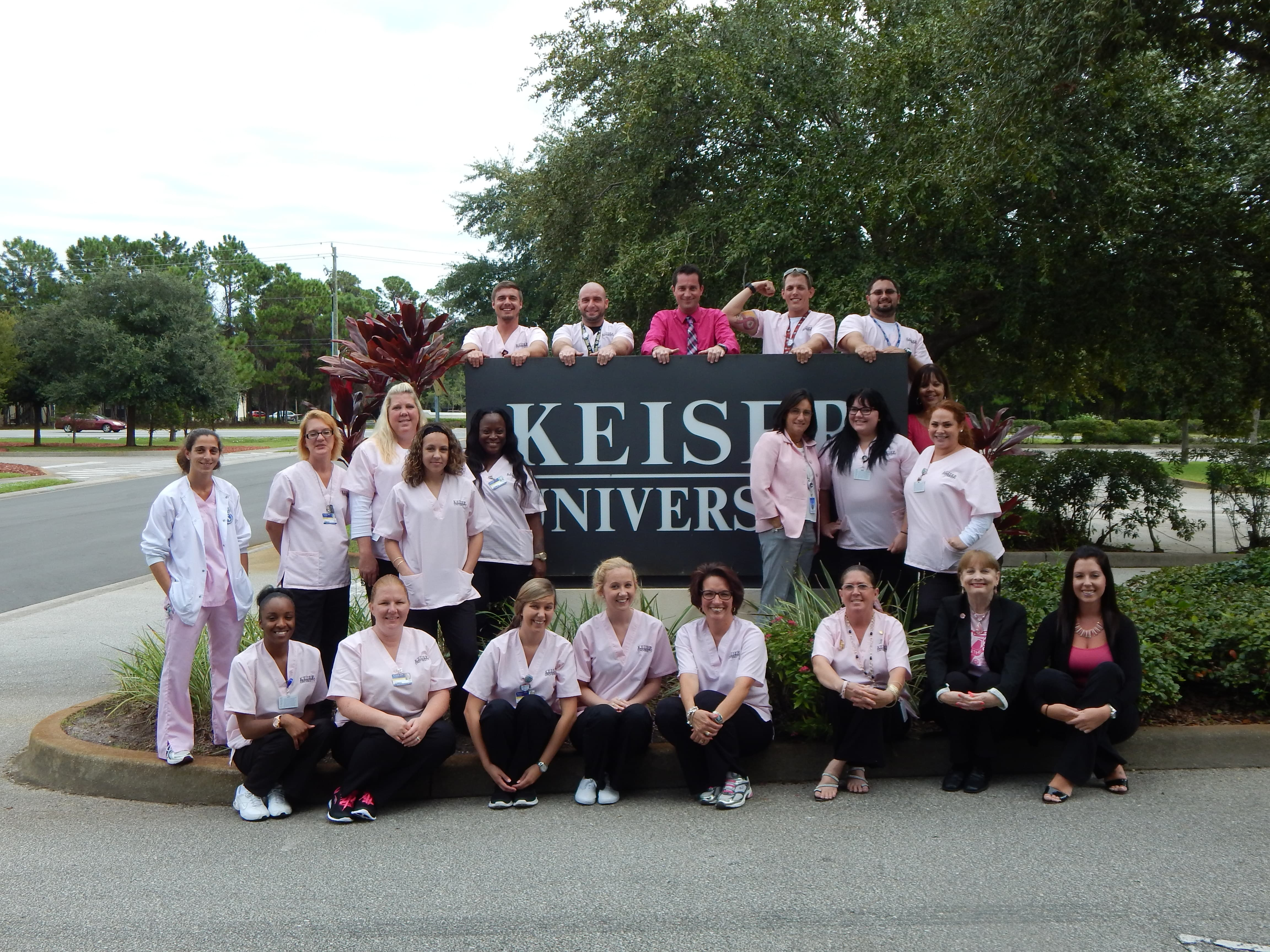 The Daytona Beach Campus Kicks-off Pink-tober in Recognition of Breast Cancer Awareness Month