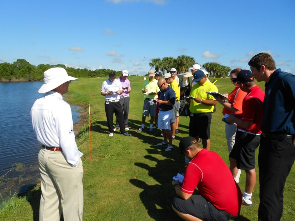 COGSM Students Get Hands-On Experience with Rules of Golf