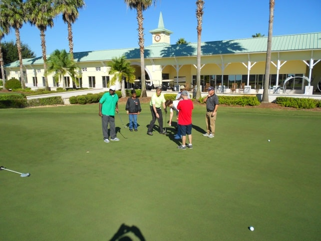 College of Golf & Sport Management Students Continue to Train Special Olympic Golfers