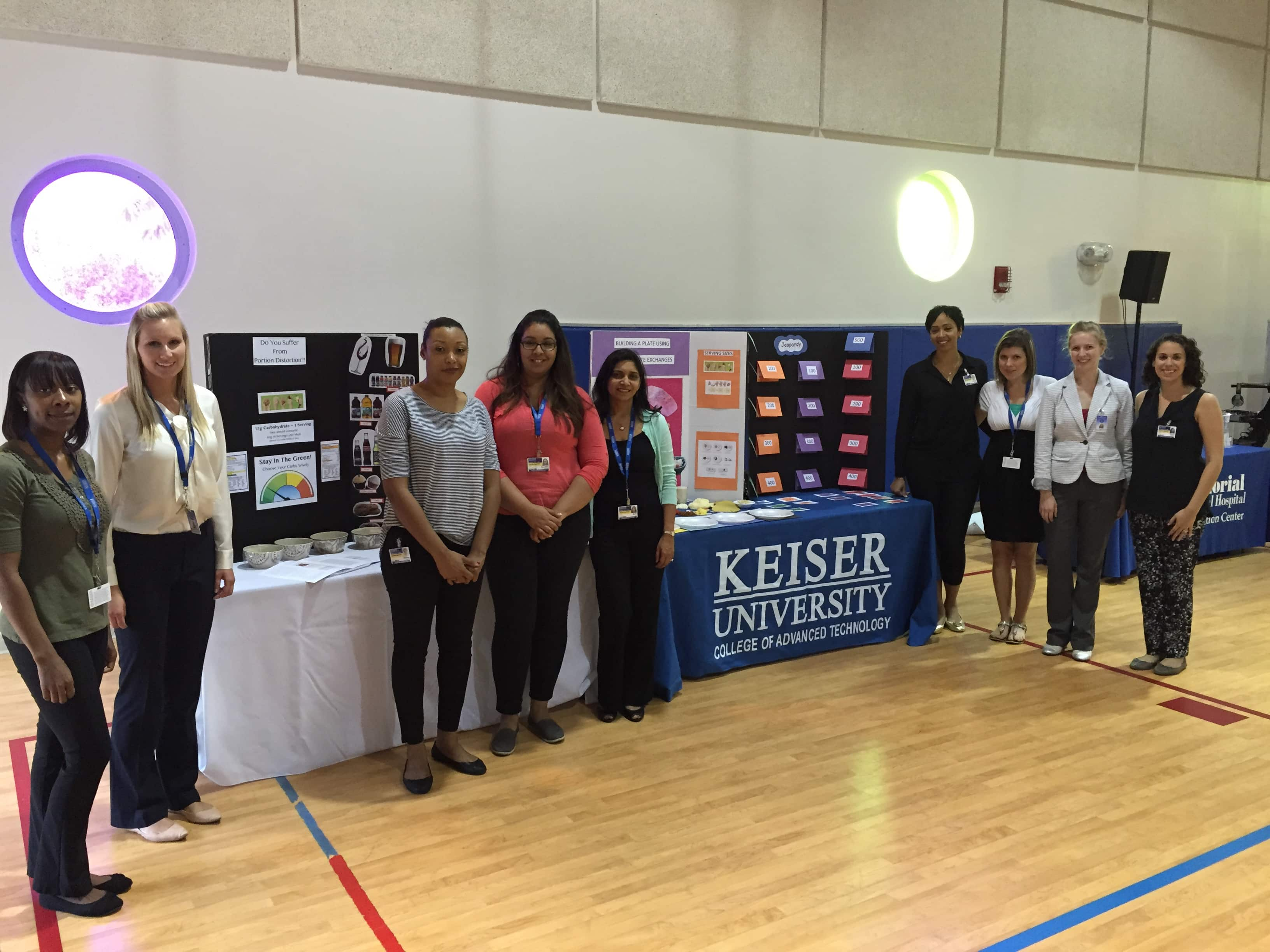 Dietetics & Nutrition Students from the Pembroke Pines Campus Participate in 3rd Annual Diabetes Awareness Event
