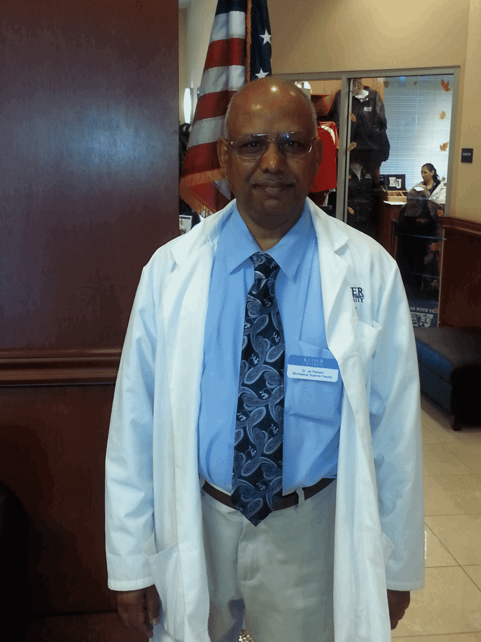 FACULTY SPOTLIGHT: Dr. Jai Parkash at KU Ft. Myers, Biomedical Sciences