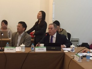 Dr. Keiser in China Oct. 2014