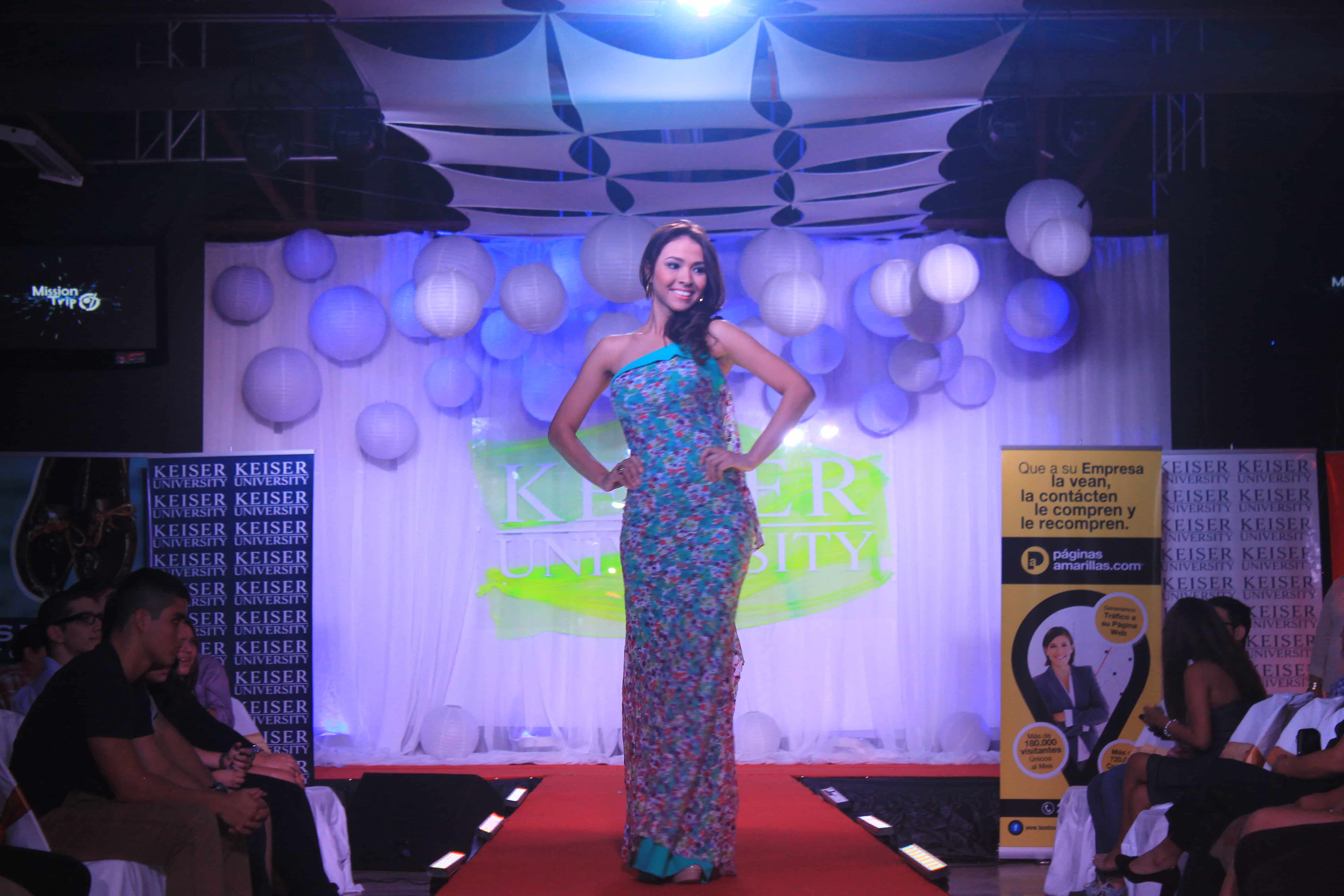 The Latin American Campus Hosts Florals Runway for a Cause 2014