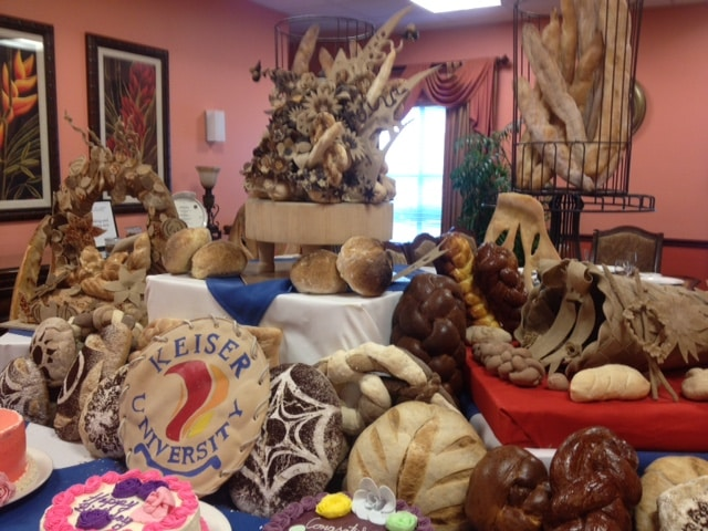 Sarasota Culinary Students Turn Bread Into Art