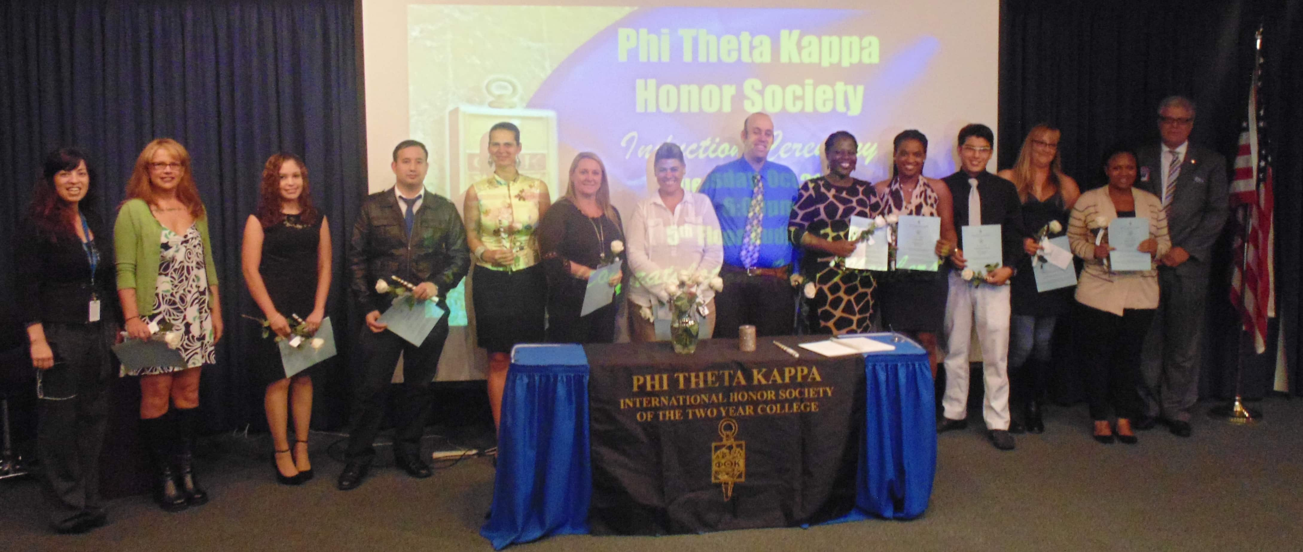 New PTK Members Inducted in Ft. Lauderdale