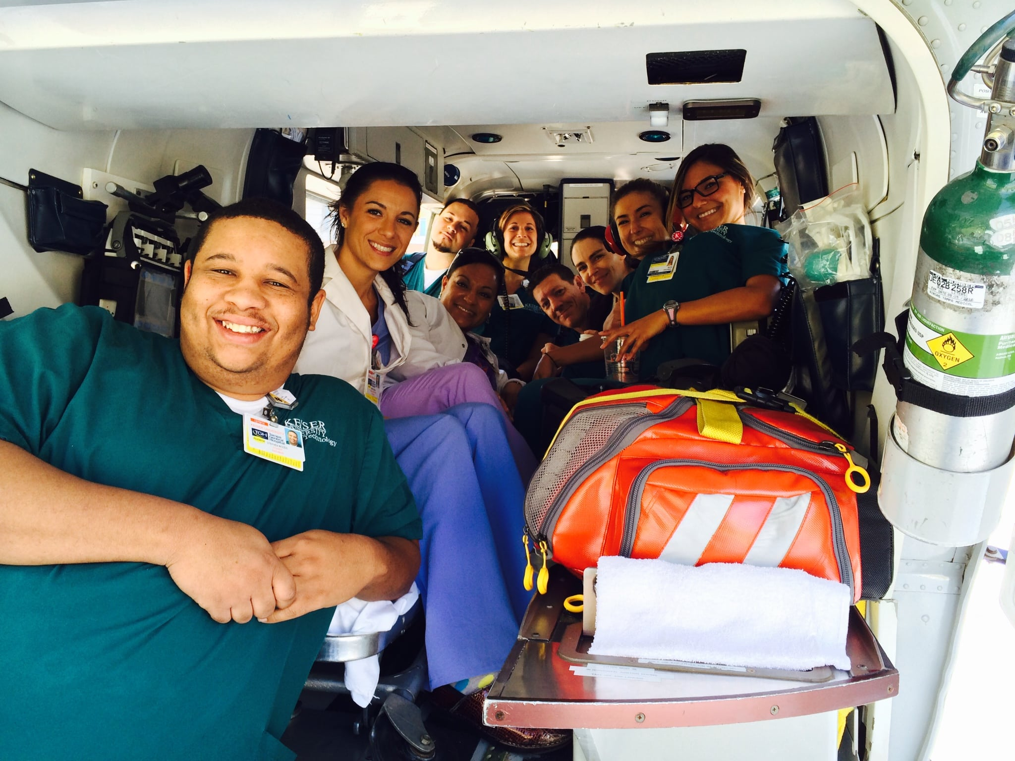 Tampa's Radiologic Technology Program Visits Tampa General Hospital Trauma Center