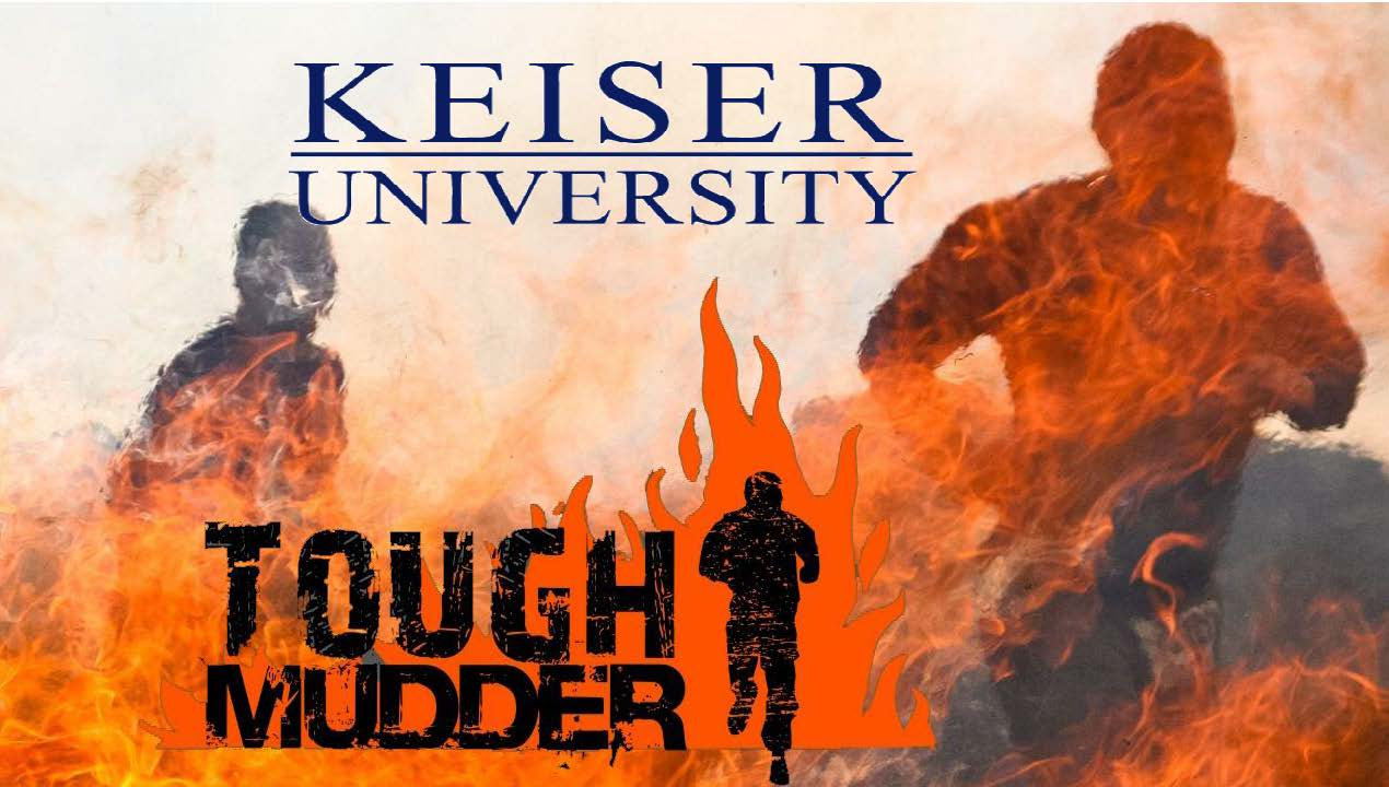 Keiser University Participates in Tough Mudder