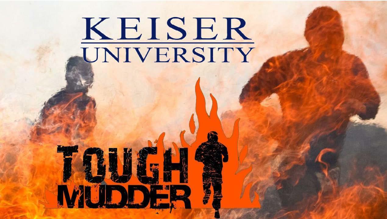 Keiser University Participates in Tough Mudder