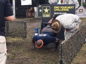 US Army challenge Michael John and Albert Mojica participated in 3