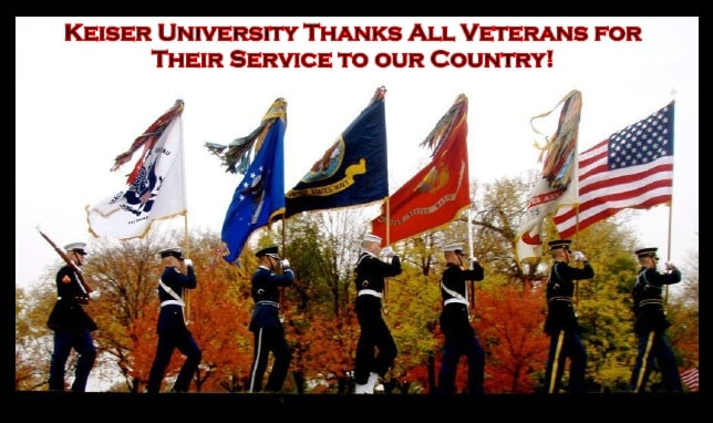 Celebrating Veterans Day by Highlighting a Few of Our Veteran Students