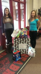 Seabreeze High School started a student veterans organization so they were eager to partner with the Daytona Beach KU campus on the toy drive.