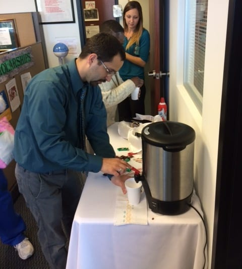 Fort Myers Financial Aid Office Creates Hot Chocolate Bar During Pre-Registration Week