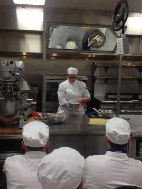 Culinary Graduate Shares Her Knowledge