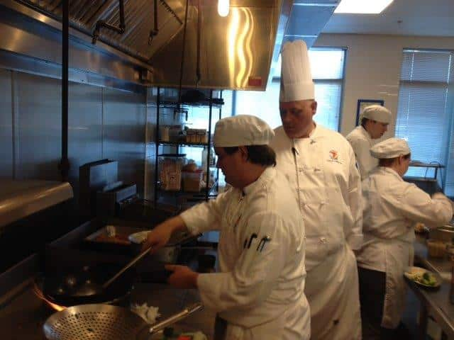 International Cuisine Students Get a Lesson in Asian Cuisine