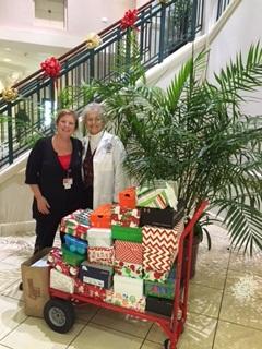 Sarasota's Nursing Students Collect Gifts for Seniors