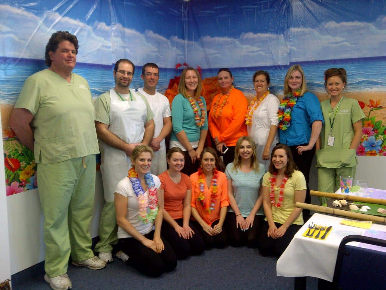 "Lakeland Dietetic & Nutrition Students Hold a ""Lovely Luau"""