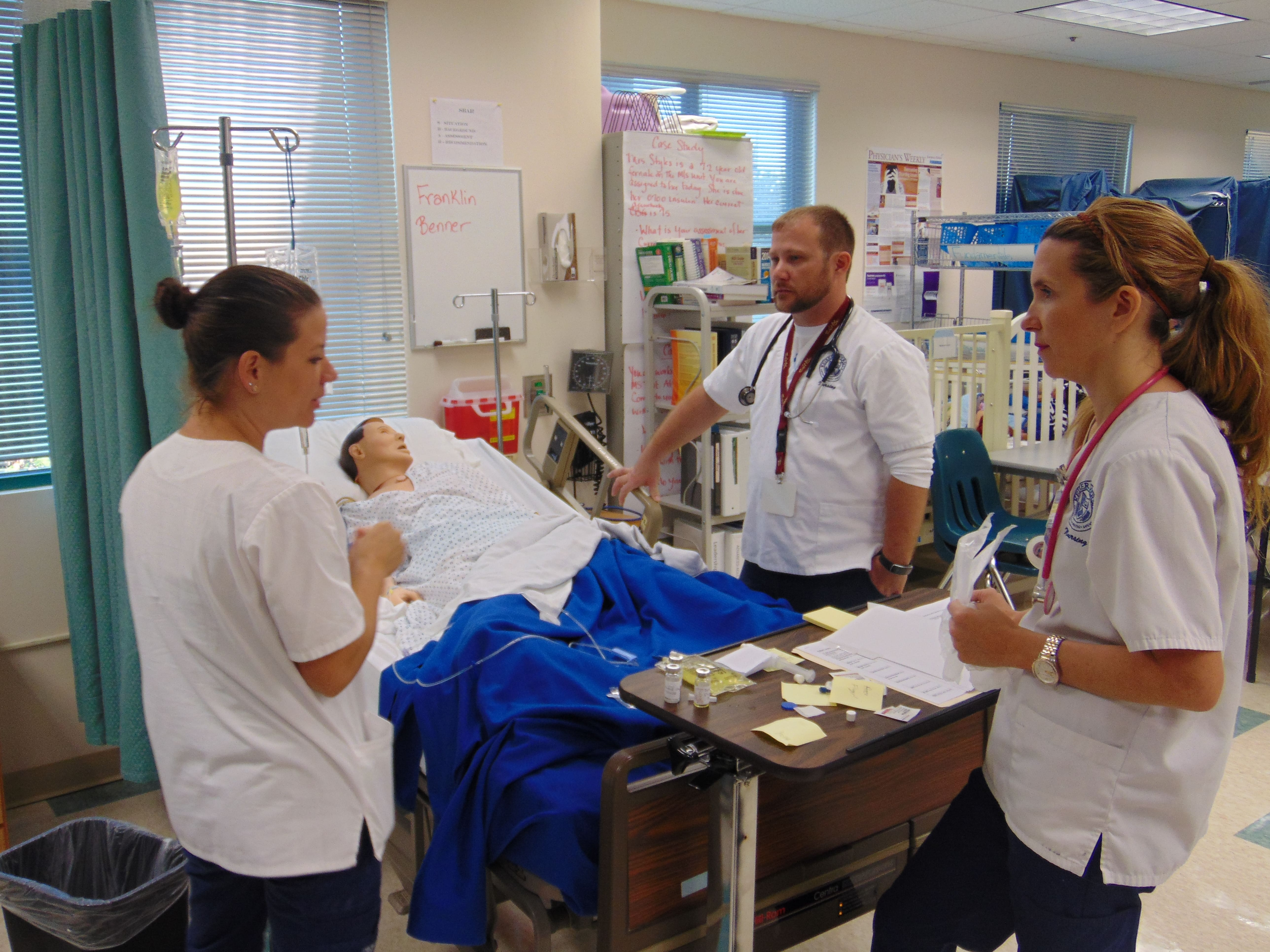 Nursing Students in Sarasota Engage in a Boot Camp for Simulation