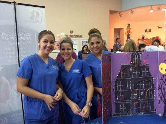 Pembroke Pines OTA and Dietetics & Nutrition Programs Participated in the Senior Health and Wellness Fair
