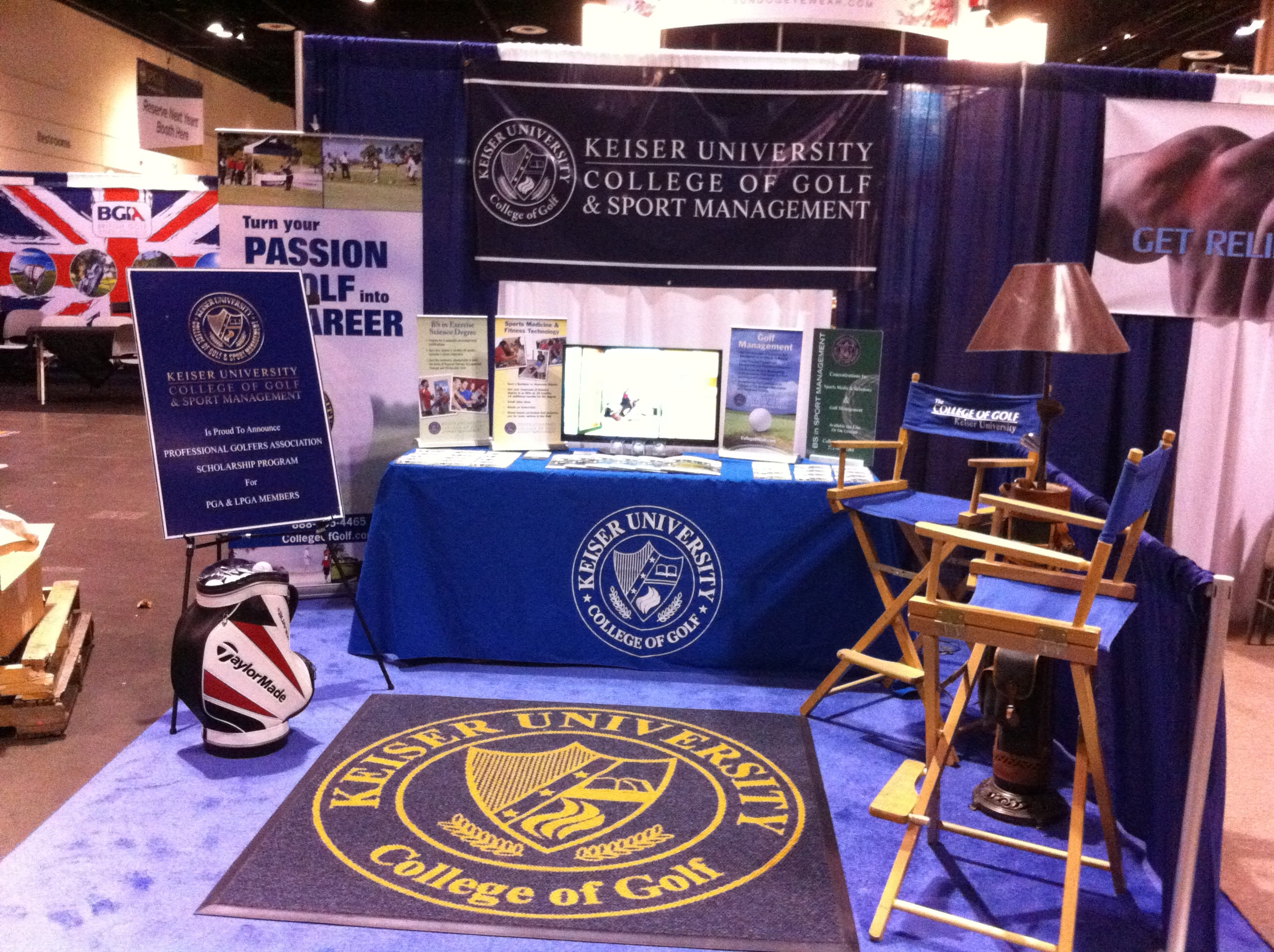 The College of Golf and Sport Management Participates in the PGA Merchandise Show
