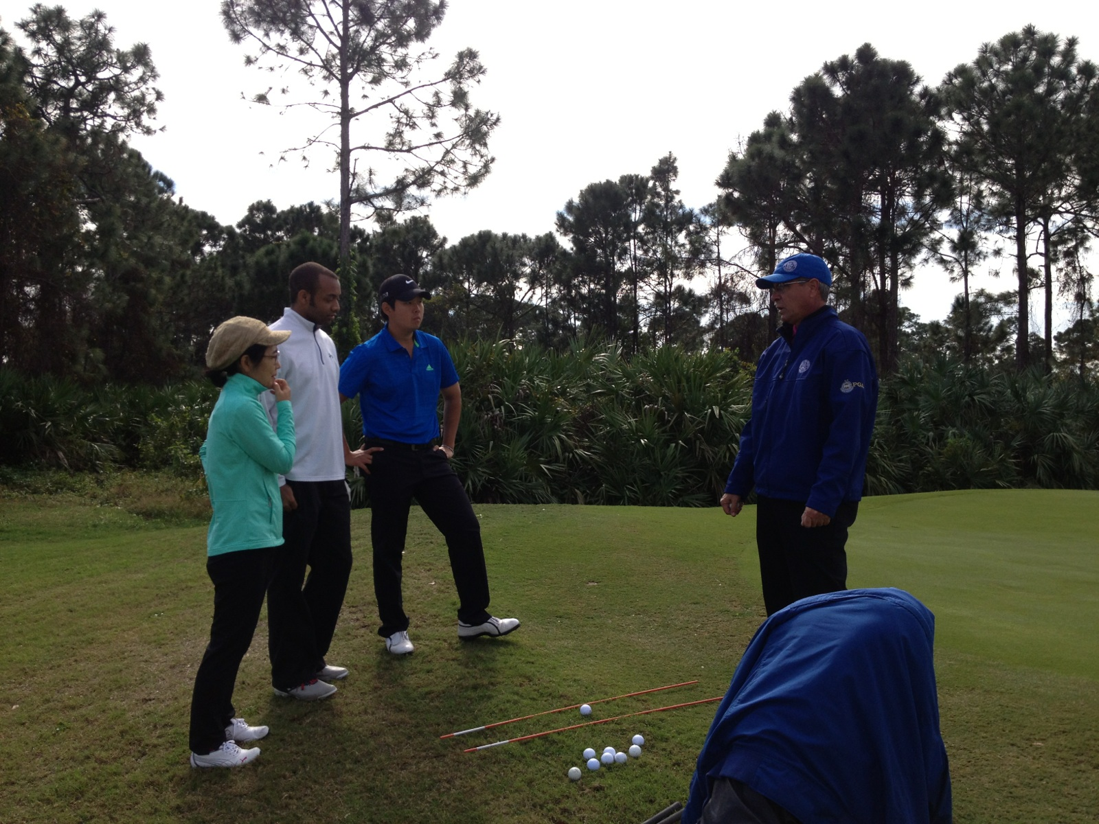 College of Golf and Sport Management Students Work Closely with PGA Professionals