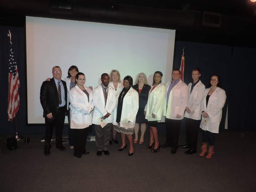 Keiser University Holds Inaugural White Coat Ceremony for Nurses