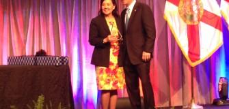 BK Chamber award Oct. 2014